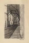 Alley off Sixth Avenue.