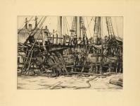 Ship Building-Gloucester.