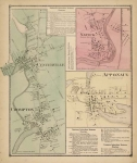 Centerville, Crompton; Natick : Warwick, Kent County; Apponaug.