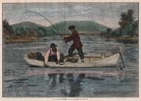 Black Bass Fishing.