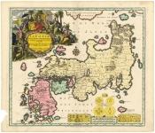 Regni Japoniae Nova Mappa Geographica, ex indigenarum observationibus delineata ab Engelberto Kaempferoâ?¦.