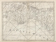 The Coast of New Spain from Neuva Vera Curz to Triste Island.