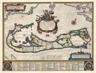 Mappa Aestivarum Insularum Alias Barmudas Dictarum. . . .