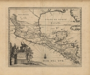 Nova Hispania Nova Galicia Guatimala (Map of Mexico and Central America).