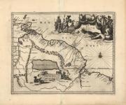 Guiana siue Amazonum Regio. (Guiana, South America)