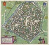 Valencena, Quondam Cygnorum Vallis, Vrbs Han:… (Valenciennes, France).