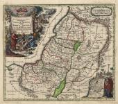 Regio Canaan seu Terra Promissionis Postea Iudea vel Palaestina Nominata Hodia Terra Sancta.