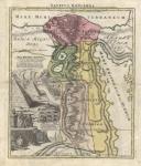 Aegyptus Hodierna Ex itinerario Celeberrimi viri Pauli Lucae... .