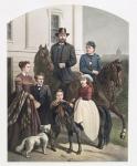 General Grant & His Family.
