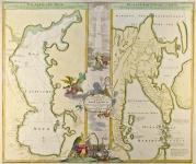 Geographica Nova ex Oriente gratiosissima...Mare Caspium, altera Kamtzadaliam, seu Terram Jedso.