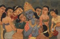Krishna and the Gopis.