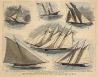 The New York Yacht Club Regatta, June 11, 1874.