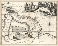 Guiana sive Amazonum Regio.