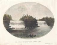 Rideau Falls - Falling into the Ottawa River : Ottawa River Canada.