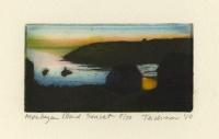 Monhegan Island Sunset.  [Maine.]