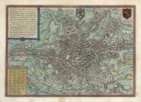 Gandavum, Aplissima Flandriae Urbs. . . . (Ghent.)