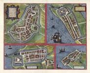 Bolzvardia. . .[on sheet with] Stavria, vulgo Stavere. . . [and] Harlinga [and] Hindelop.