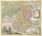 Ducatus Stiriae Novissima Tabula exampliore mappa olim R.Dni. Georgii Matth. Vischer . . .