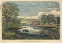 Mill Pond, Sleepy Hollow, at Tarrytown, New York.  The,