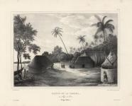 Maison de la Tamaha, au village de Moua.  (Tonga-Tabou.)