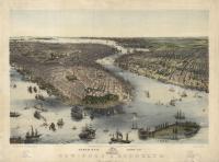 Birds' Eye View of : New-York & Brooklyn.